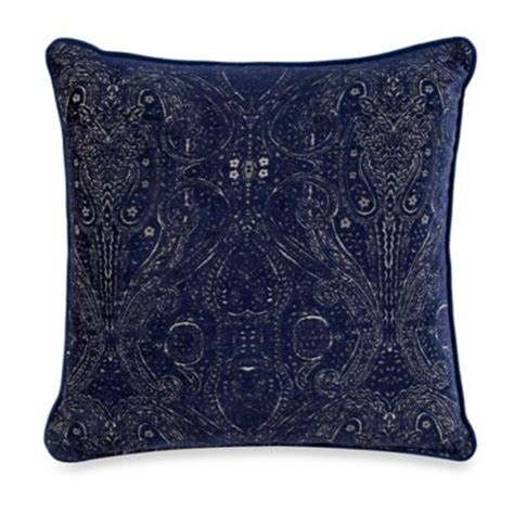Navy And Gold Throw Pillows Buy Navy Gold Throw Pillow From Bed Bath Beyond