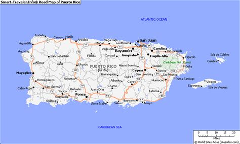 printable puerto rico road map map of puerto rico toursmaps com