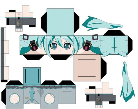 Anime Papercraft Template - my papercraft templates anime more come to in