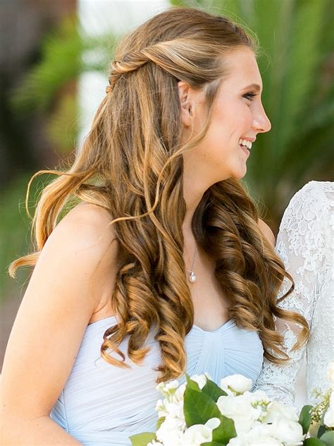 Simple Bridesmaid Hairstyles For Hair by 15 Best Wedding Hairstyles For A Strapless Dress