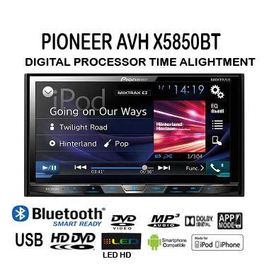 Tv Mobil Symbion format untuk din pioneer avh x5850bt din tv dvd mobil entertainment