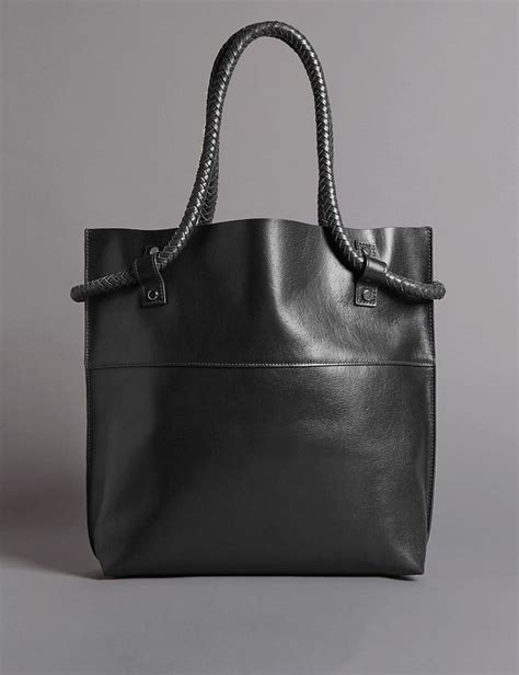 Autograph Leather Frame Bag From Marks Spencer by Leather Shopper Bag Endource