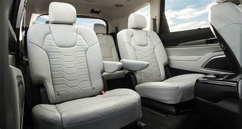 kia telluride interior whats   trim level matt