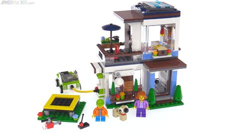Lego Creator 3 In 1 Modular Modern Home Review 31068 Lego Creator House