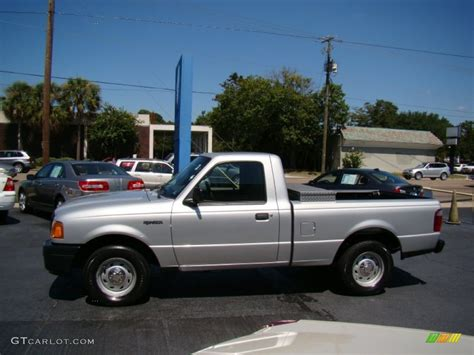 ranger ford 2005 silver metallic 2005 ford ranger xl regular cab exterior