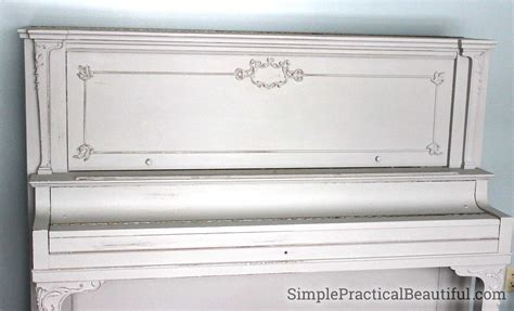 chalk paint how many coats refinish a piano with chalk paint simple practical beautiful
