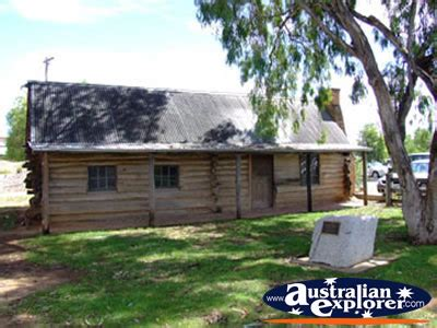 Au Cabins by Cobram The Log Cabin Photograph Cobram The Log Cabin