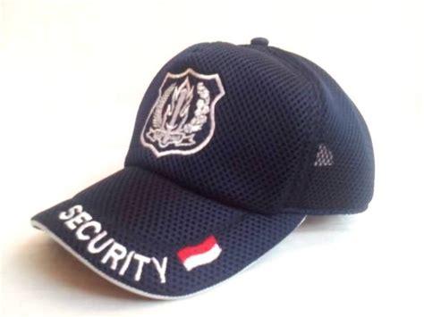 Topi Security Wing Biru Dongker Jual Topi Jala Security Niyansuri