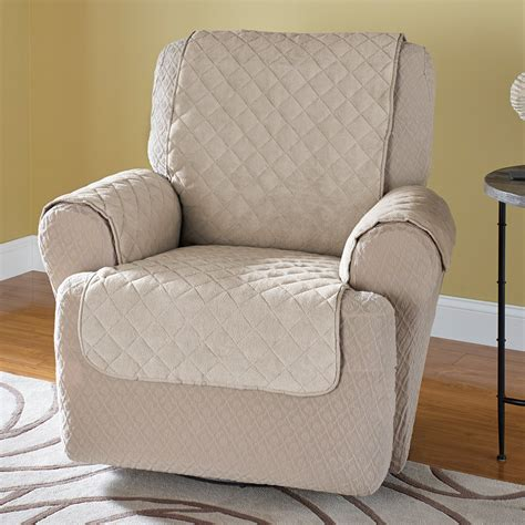Recliner Chair Protector innovative textile solutions plush recliner wing chair protector at hayneedle
