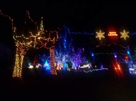 holidays made bright with christmas lights in iron county