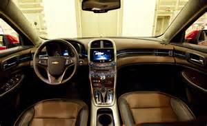 we poke and prod a 2013 chevrolet malibu interior and find