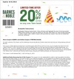barnes n noble coupons barnes and noble printable coupons coupon code discount