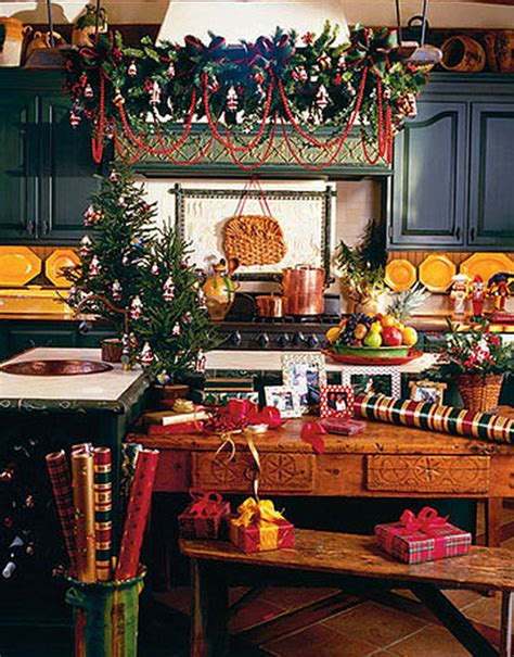 Christmas Decoration Ideas For Kitchen | unique kitchen decorating ideas for christmas family