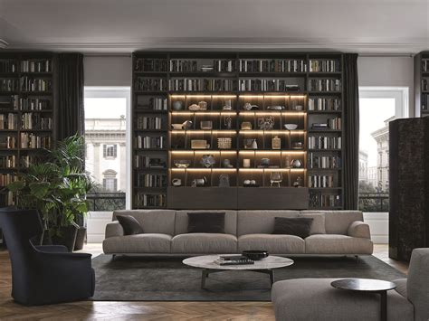 Bookcase Unit Wall System By Poliform