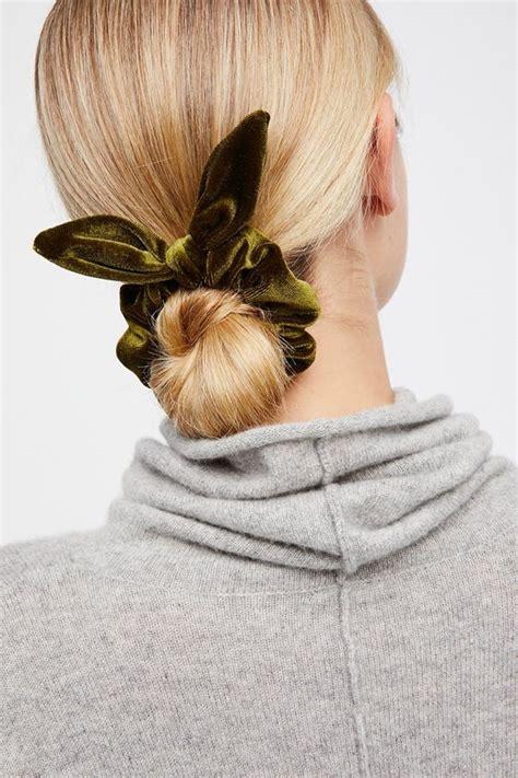 Wears A Scrunchie by Hair Trends How To Wear A Scrunchie In 2018 Hair