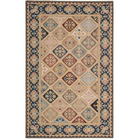 Area Rugs Overstock Nourison Overstock Country Heritage Multi 3 Ft 6 In X 5 Ft 6 In Area Rug 621368 The Home Depot