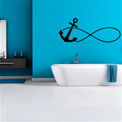 Wall Sticker Infinity Home Decal Room Decor 1 anchor infinity wall decal wall sticker from valdonimages on