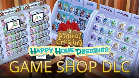 happy home designer board game nintendo game shop dlc with claude animal crossing