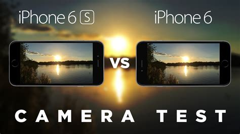 iphone 6s vs iphone 6 test comparison
