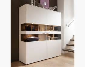 modern 2 door felino cabinet in choice of white grey