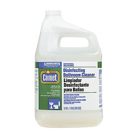 comet disinfecting bathroom cleaner comet disinfecting bathroom cleaner 1 gallon case of 3 by