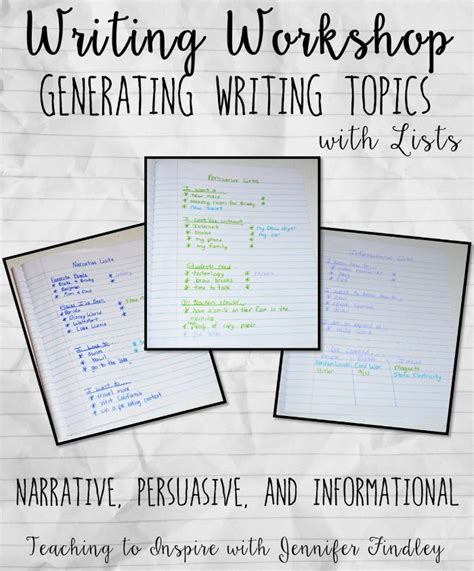 10 Topic Suggestions For Narrative Essays 701 Best Writing Images On Teaching Writing Writing Ideas And Writing Lessons