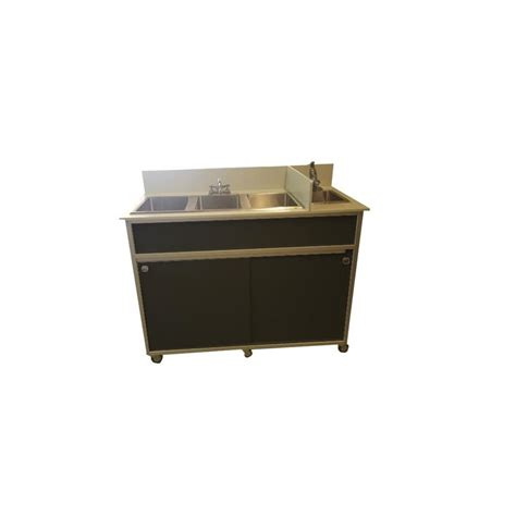 Gunting Lipat Portable Stainless Steel Shop Monsam Black Basin Stainless Steel Portable Sink At Lowes