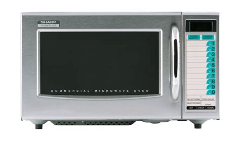 Microwave Sharp R 299in S r 21ltf commercial microwave commercial appliances sharp