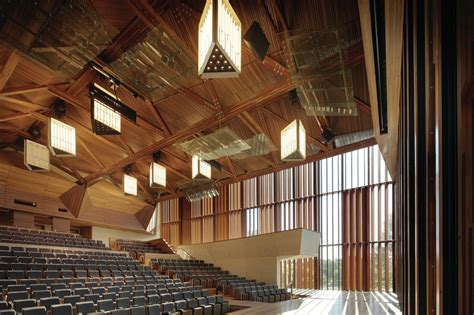 design solutions journal of the architectural woodwork institute the auditorium at the university of queensland architect