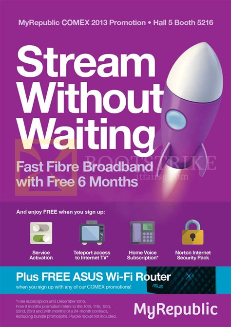 Wifi Myrepublic myrepublic fibre broadband free 6 months free services free asus wireless router comex 2013