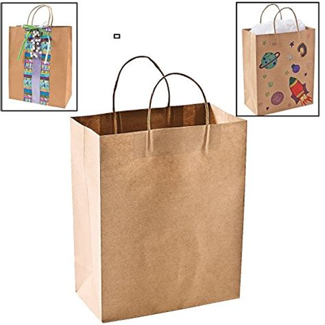 Brown Paper Craft Bags - really great gift wrapping paper and supplies