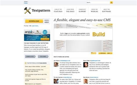 text pattern website 26 platforms for blogging practical ecommerce
