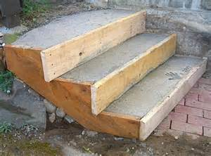 How to make concrete steps