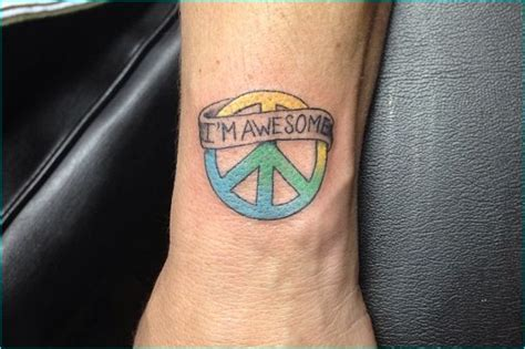 tattoo meaning peace 26 best images about cool peace sign tattoo meaning and