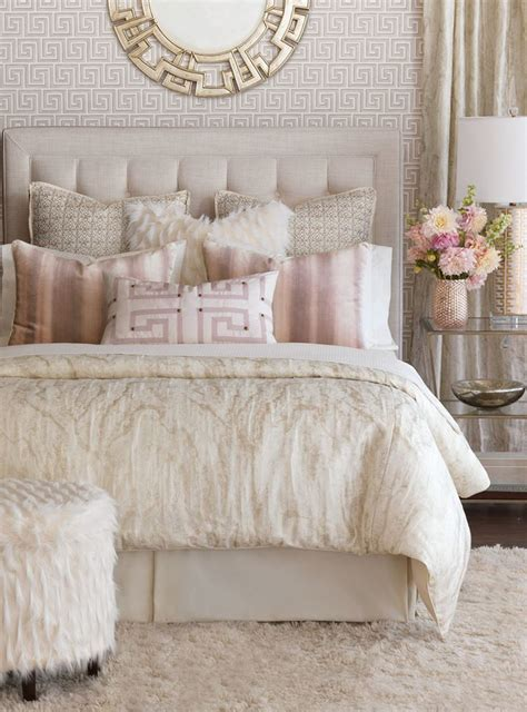 light pink and cream bedroom a place to lay your head finding the bed that s right for