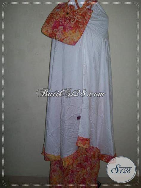 Mukena Cap Warna 1 mukena batik warna cerah mukena batik cap asli batik bahan mukena adem mc038 toko batik