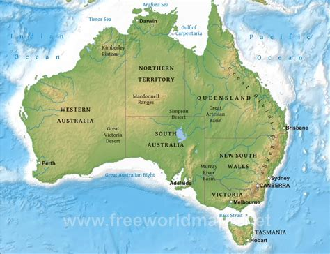 australia geographical features map australia map physical stop these things