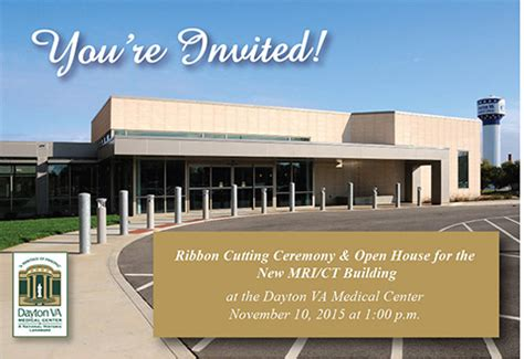 open houses dayton ohio open house for new mri ct building dayton va medical