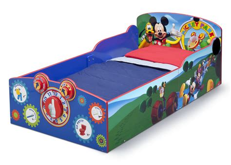 mickey bed mickey mouse toddler bed with mattress home design ideas