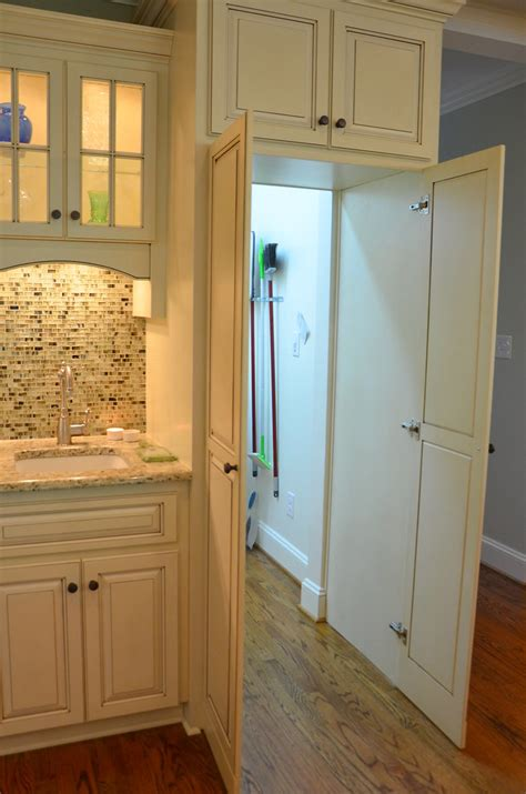 addition remodel hidden walk  pantry