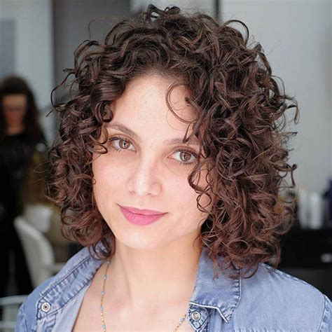 bob haircuts naturally curly hair curly bob hairstyles for women autumn winter short hair