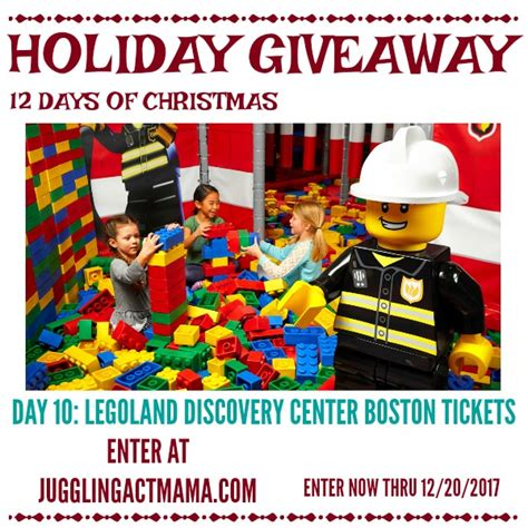 Boston Giveaway - legoland discovery center boston holiday giveaway juggling act mama