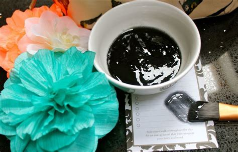 diy charcoal mask charcoal mask for flawless skin