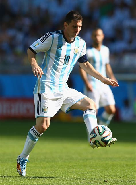 biography of lionel messi of argentina lionel messi in argentina v iran group f 2014 fifa