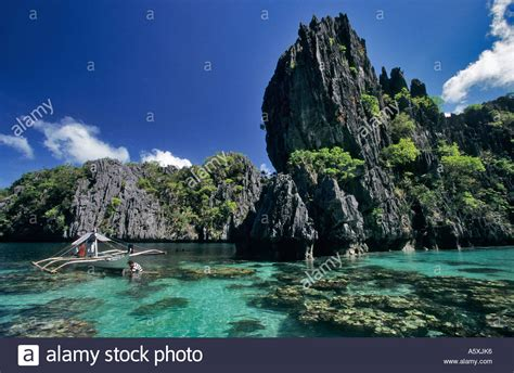 Ph Le by The Quot Big Lagoon Quot At Miniloc Island Palawan Philippines