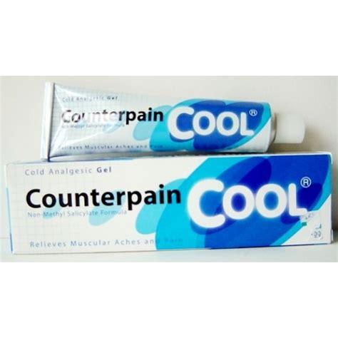 Counterpain 120 Gram counterpain cool pijnstillende gel verlichten spierpijn