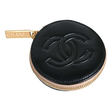 Ocase Lambskin With Box 1 chanel camelia and logo leather coin purse in box