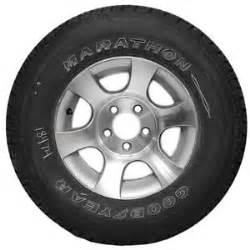 Goodyear Trailer Tire Date Code Tracker Marine Goodyear Marathon St215 75r14 Boat Trailer