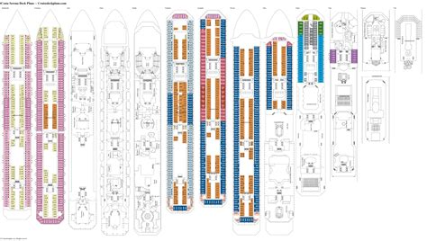 costa serena cabine costa serena deck plans diagrams pictures