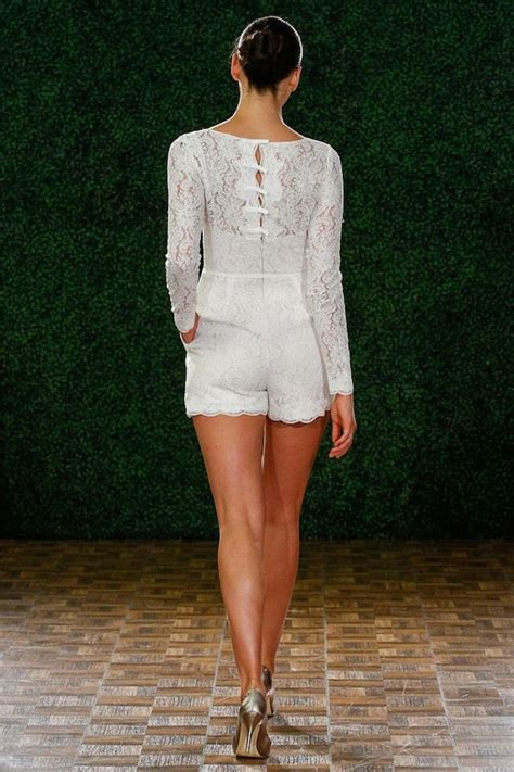 Wedding Dress Romper by And The Wore The Trousers Bridal Musings